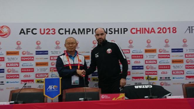 HLV U23 Qatar: 'Trận bán kết gặp U23 Việt Nam là cặp đấu cân bằng'