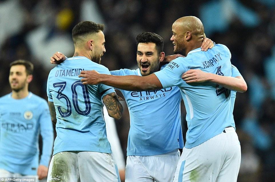 Video clip highlights bàn thắng Chung kết Cúp Liên đoàn Anh - Arsenal 0-3 Man City