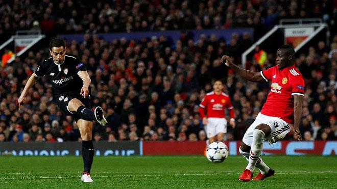 Video clip highlights bàn thắng M.U 1-2 Sevilla: Yedder khiến Old Trafford câm lặng