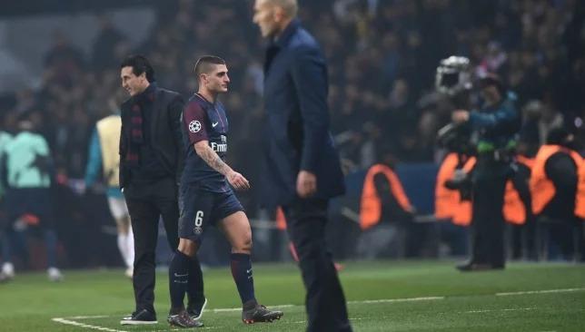 Marco Verratti báo hại PSG vì chiếc thẻ đỏ ngớ ngẩn trước Real Madrid