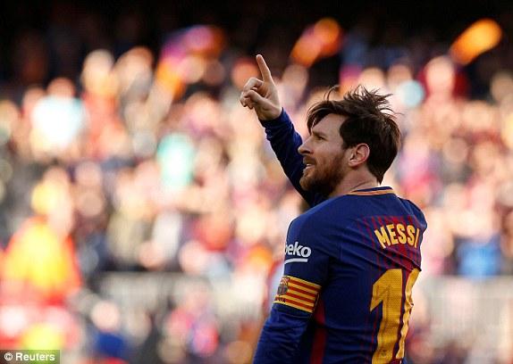 Video clip highlights bàn thắng trận Barca 2-0 Bilbao: Messi lại nổ súng