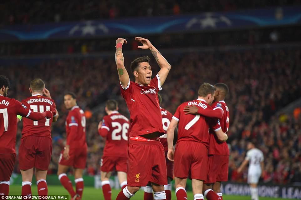 Video clip highlights bàn thắng Liverpool 5-2 AS Roma