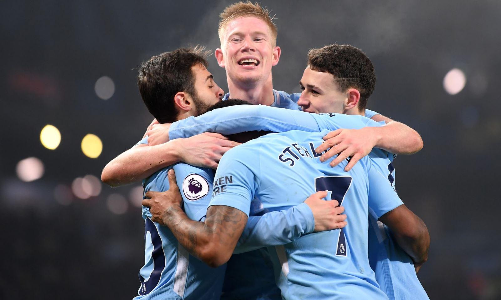 Man City CHÍNH THỨC vô địch Premier League mùa 2017-18 sớm 5 vòng đấu