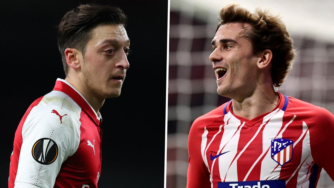 Video bàn thắng Arsenal 1-1 Atletico Madrid: Hòa trong thất vọng