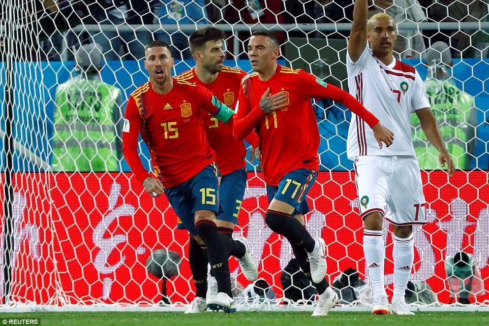 Video clip bàn thắng Tây Ban Nha 2-2 Morocco: 'La Roja' gỡ hòa phút cuối nhờ VAR