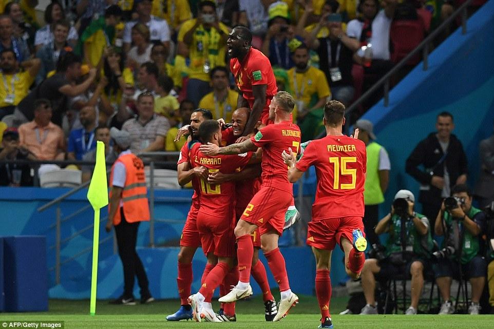 Video clip bàn thắng Brazil 1-2 Bỉ: Lukaku và De Bruyne tỏa sáng