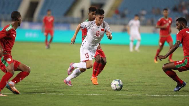 ĐIỂM NHẤN U23 Việt Nam 1-0 U23 Oman: Dũng cảm như Mr Park. Khoảng cách quá lớn giữa hai đội hình
