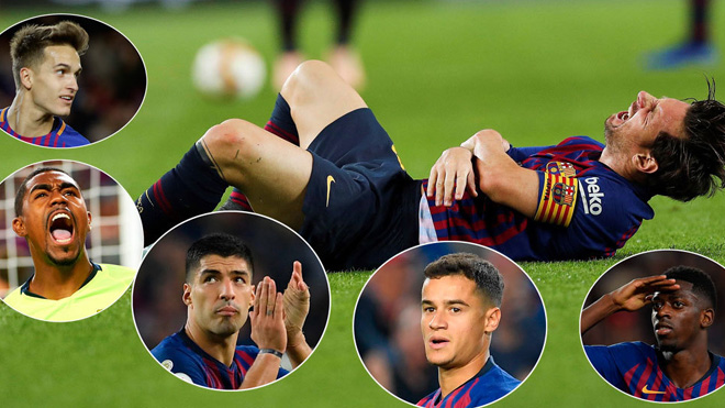 Barca đá 'Kinh điển' thế nào khi thiếu Messi? Ai sẽ thay thế siêu sao này?
