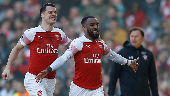VIDEO Arsenal 2-0 Southampton: Arsenal chiếm vị trí thứ 4 của M.U