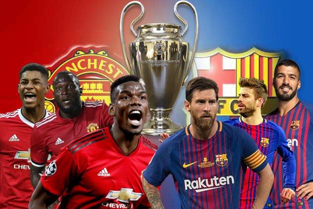 MU, Barcelona, MU vs Barcelona, Lịch thi đấu bóng đá cúp C1, lịch thi đấu bóng đá hôm nay, bong da hom nay, trực tiếp bóng đá, juventus, ajax, man city, liverpool