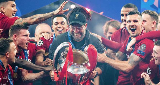 liverpool, liverpool vô địch ngoại hạng anh, ngoại hạng anh, kết quả bóng đá anh, premier league, klopp, bảng xếp hạng bóng đá anh, Salah, Mane, van Dijk, The Kop