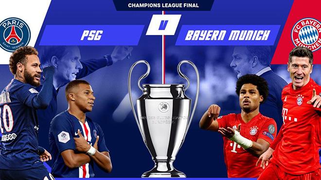 Truc tiep bong da, PSG vs Bayern,Trực tiếp chung kết Cúp C1, Lịch thi đấu C1, K+PM, trực tiếp bóng đá, trực tiếp Cúp C1, PSG đấu với Bayern, chung kết Champions League