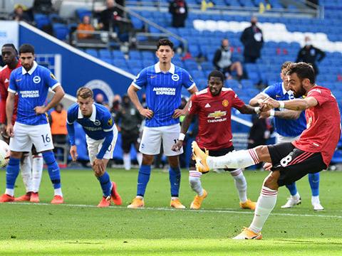 ĐIỂM NHẤN Brighton 2-3 MU: Fernandes vẫn là người hùng. Pogba đá như chấp người