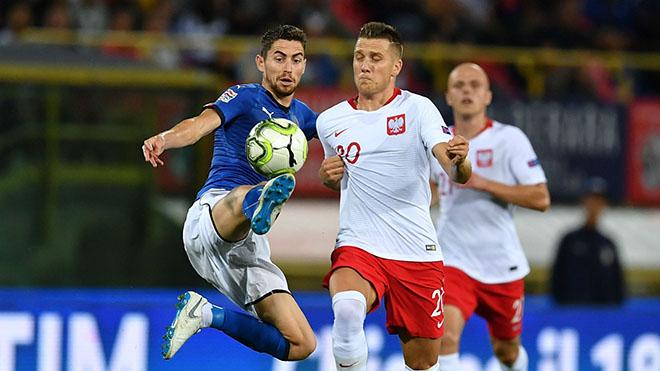 Link xem trực tiếp bóng đá,Italia vs Ba Lan, trực tiếp bóng đá, BĐTV, K+PM, Trực tiếp UEFA Nations League, Trực tiếp Bóng đá Italia đấu với Ba Lan, BXH Nations League