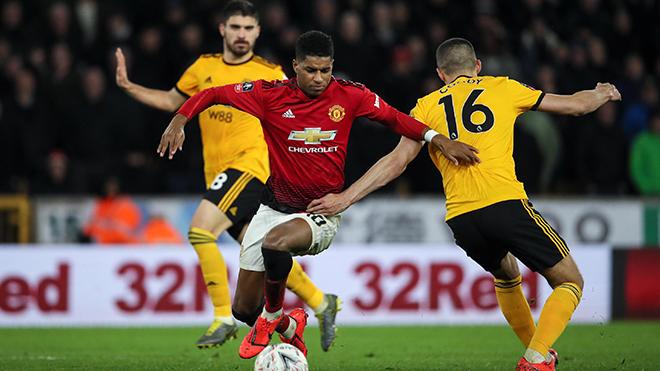 MU 1-0 Wolves: Rashford đóng vai người hùng, MU vươn lên vị trí thứ 2