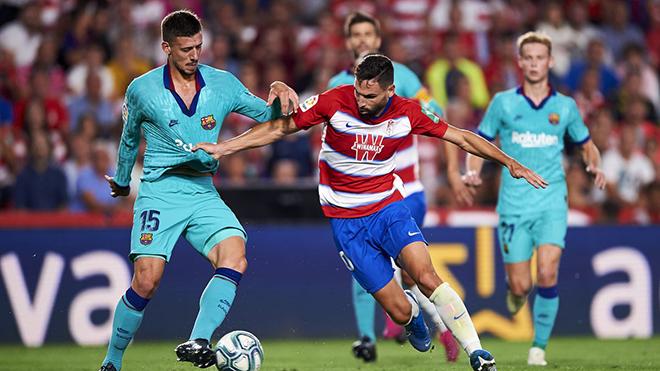Barcelona. Video clip bàn thắng trận Granada vs Barcelona. BXH La Liga vòng 18