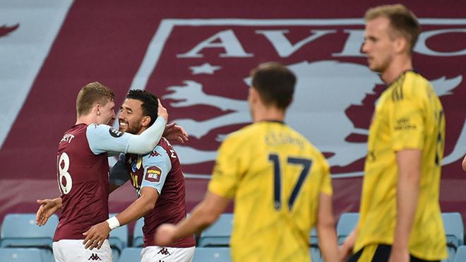 Video Aston Villa vs Arsenal. Video clip bàn thắng trận Aston Villa vs Arsenal