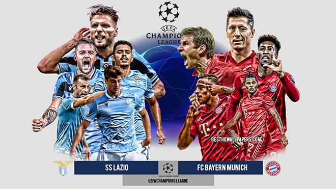 VideoLazio vs Bayern Munich. Video clip bàn thắng trận Lazio vs Bayern Munich. Kết quả bóng đávòng 16 đội cúp C1 châu Âu.Kết quả bóng đá cúp C1/Champions League.