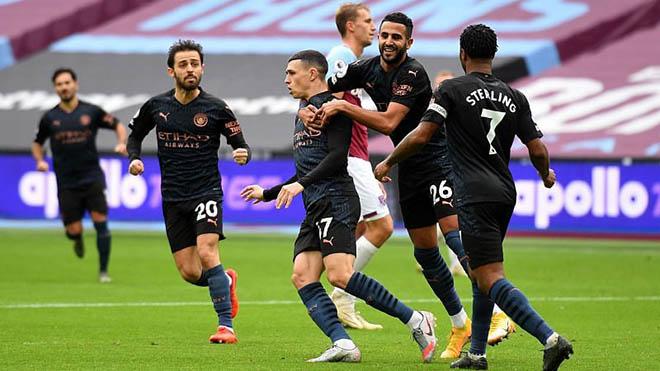 Video Man City vs West Ham. Video clip bàn thắng trậnMan City vs West Ham. Kết quảbóng đá Ngoại hạng Anh. Kết quảMan City đấu với West Ham. BXH Ngoại hạng Anh