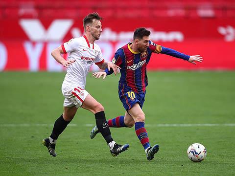 Video clip bàn thắng trận Barcelona vs Sevilla