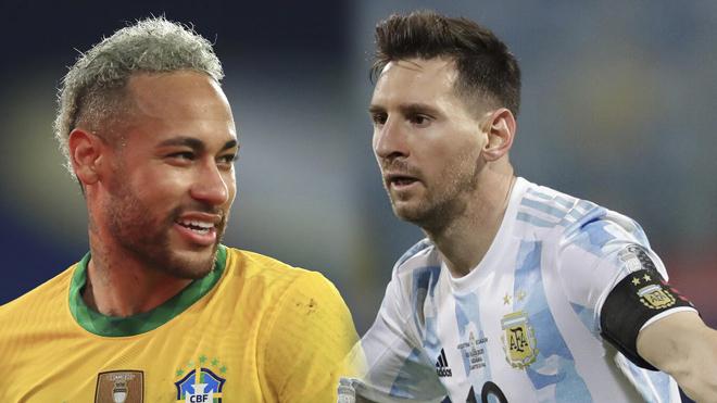 Lịch thi đấu Chung kết Copa America 2021: Argentina vs Brazil. Copa America 2021