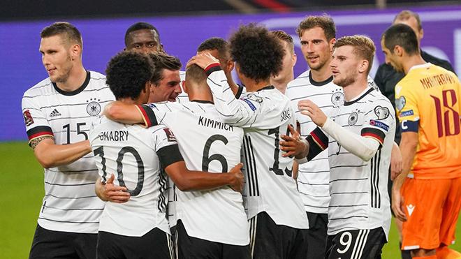Link xem trực tiếp bóng đá Iceland vs Đức, vòng loại World Cup 2022 (01h45, 9/9)