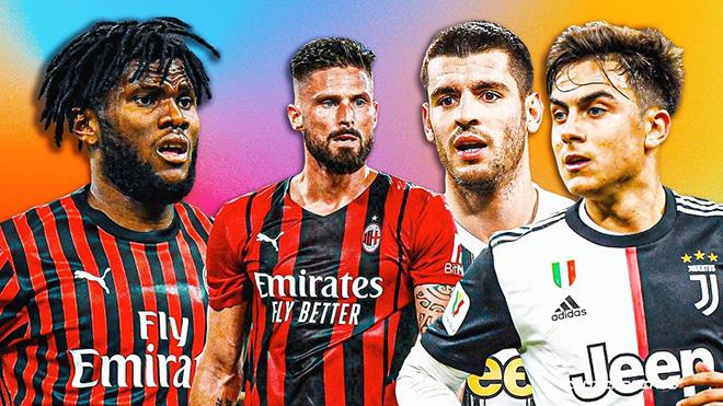 TRỰC TIẾP bóng đá Juventus vs Milan, bóng đá Ý Serie A (01h45, 20/9)