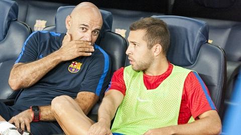 Alba không còn được trọng dụng ở Barcelona