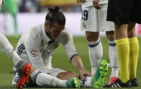 Bale lại gặp chấn thương