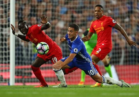 Liverpool từng cạnh tranh ngôi đầu bảng với Chelsea