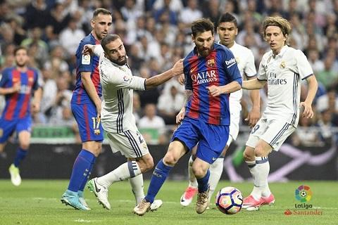 Messi là cơn ác mộng của Real Madrid trong trận đấu vừa qua