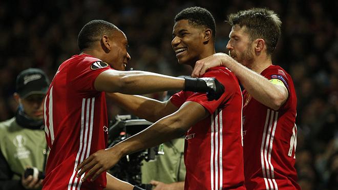 Man United 2-1 Anderlecht (chung cuộc 3-2): Ibra chấn thương nặng, Rashford giải cứu M.U ở hiệp phụ