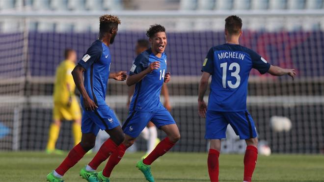Thắng dễ U20 Honduras, U20 Pháp thảnh thơi chờ trận đấu với U20 Việt Nam