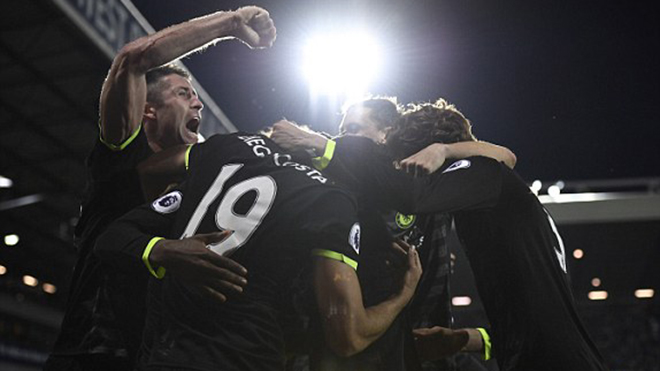 West Brom 0–1 Chelsea: Batshuayi sắm vai người hùng, Chelsea vô địch sớm 2 vòng đấu