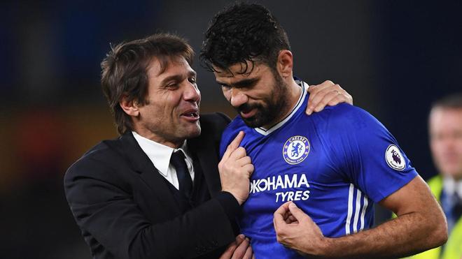 Conte phải chiến đấu với BLĐ để giữ Diego Costa ở lại Chelsea