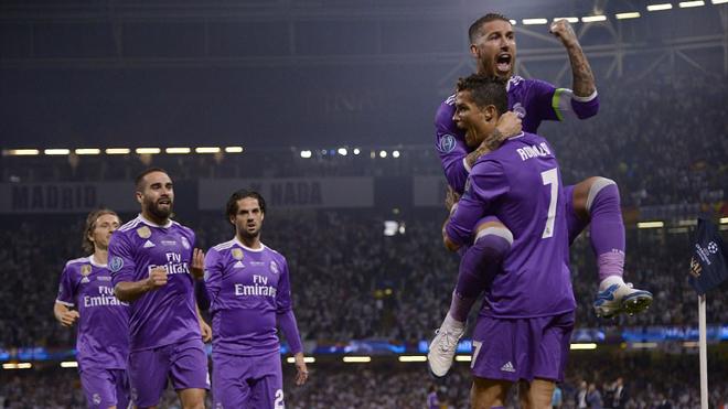 Xem toàn bộ các bàn thắng trận chung kết Champions League 2016/17