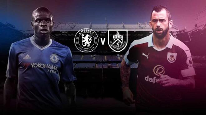 Xem trực tiếp trận Chelsea - Burnley (21h00, 12/8)