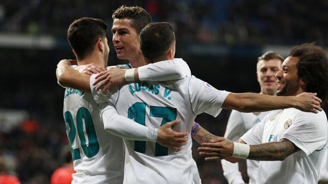 Video bàn thắng trận Real Madrid 5-2 Real Sociedad: Hat-trick của Ronaldo