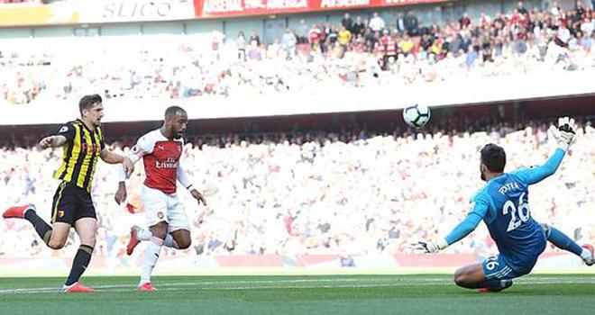 Man City thắng nhẹ nhàng. Arsenal nhọc nhằn vượt qua hiện tượng Watford