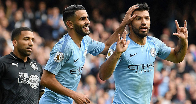 Video Man City 5-0 Burnley: Thắng hủy diệt, Man City chiếm ngôi đầu bảng