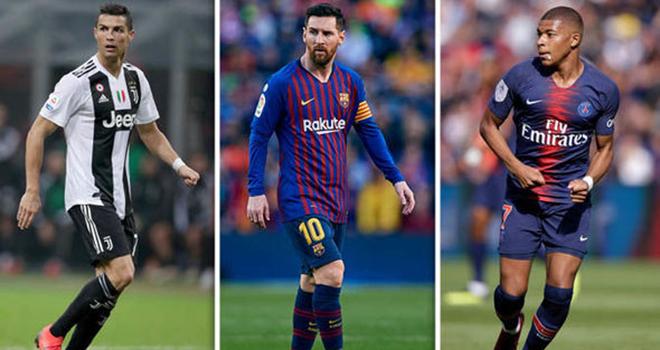 Messi bỏ xa Mbappe và Ronaldo trong cuộc đua Giày Vàng
