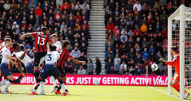 Bournemouth 1-0 Tottenham: Người cũ Chelsea hạ gục Spurs