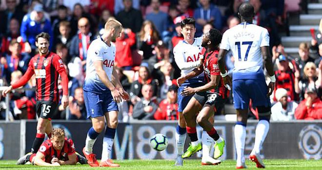 Bournemouth 1-0 Tottenham: Bị đuổi 2 người, Spurs gục ngã, cuộc đua top 4 lại mở ra cho MU