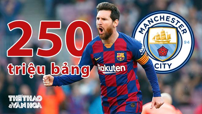 Barcelona hạ giá Messi xuống 250 triệu bảng