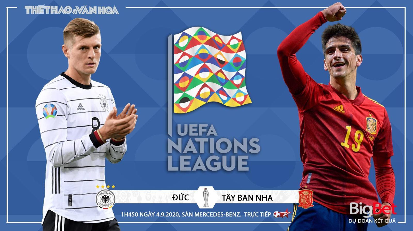 Soi kèo nhà cái Đức vs Tây Ban Nha. UEFA Nations League 2020-21. Trực tiếp BĐTV