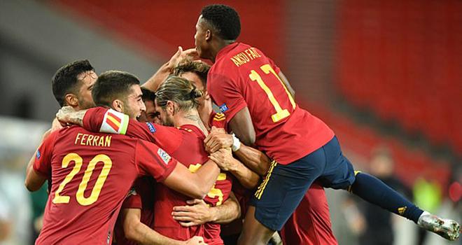 Kết quả bóng đá, Đức 1-1 Tây Ban Nha, Video clip bàn thắng Đức vs Tây Ban Nha, clip Đức đấu với Tây Ban Nha, kết quả UEFA Nations League 2020-21, kết quả TBN vs Đức