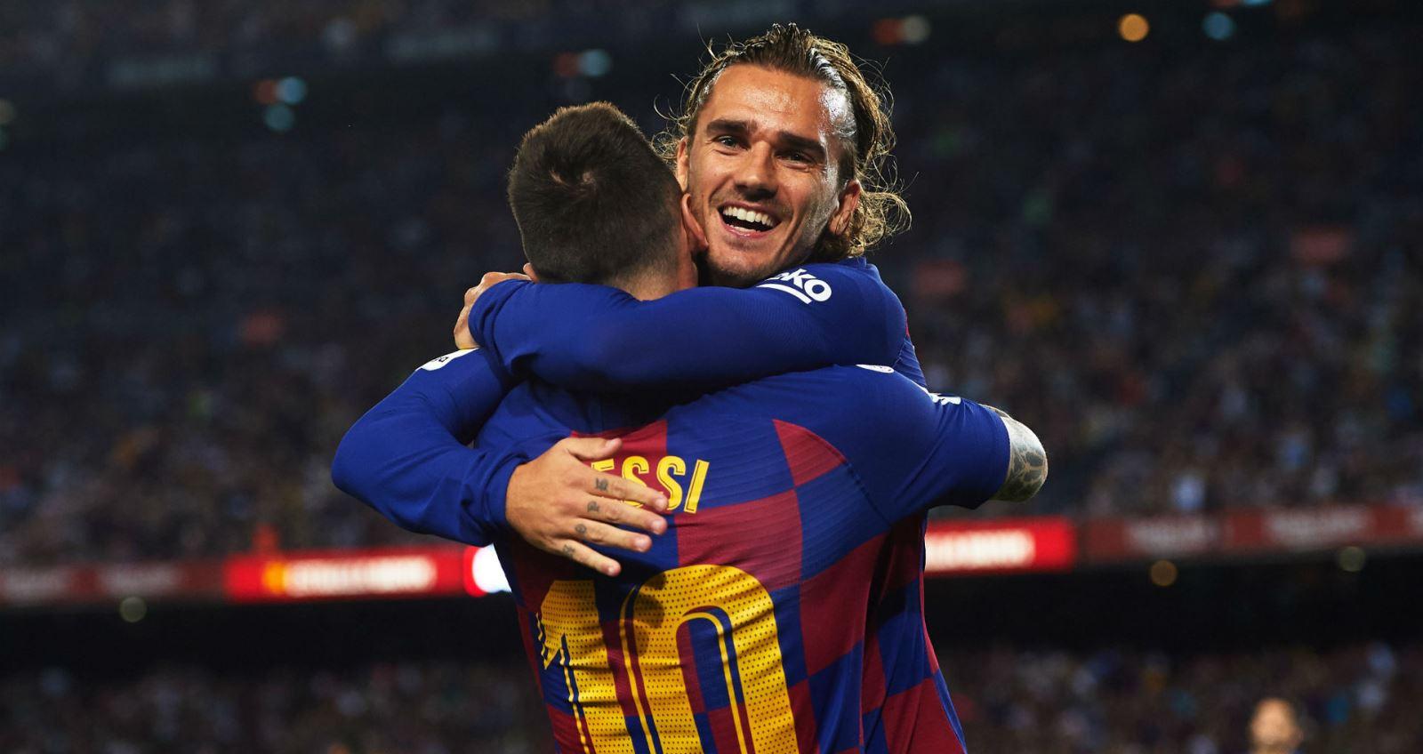 Barcelona. Chuyển nhượng Barcelona. Messi. Griezmann nói về tương lai Messi. Griezmann, Messi rời Barcelona, Messi ở lại barcelona, tương lai Messi, Messi vs Griezman
