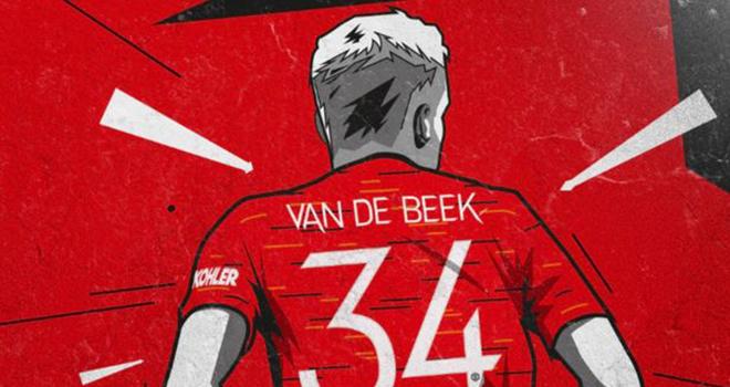 MU, Chuyển nhượng MU, Van de Beek, MU chính thức chiêu mộ được Van de Beek, Van de Beek gia nhập MU, giá Van de Beek, hợp đồng Van de Beek với MU, lương van de Beek ở MU