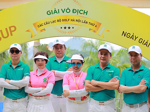 Giải vô địch Câu lạc bộ Golf Hà Nội lần thứ 4 - Fastee Cup: Vì vẻ đẹp '36 phố phường'