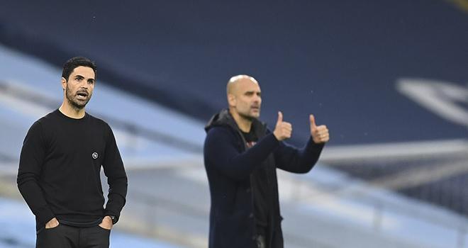 Ket qua bong da, Man City vs Arsenal, Pep Guardiola xứng đáng là thầy Arteta, kết quả Ngoại hạng Anh, kết quả bóng đá Anh, bảng xếp hạng Ngoại hạng Anh, Pep, Arteta, kqbd